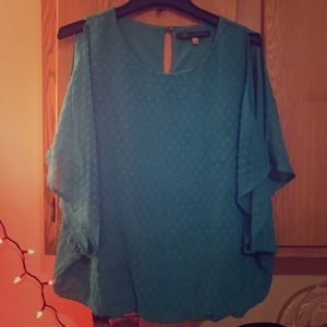 Turquoise blouse size M